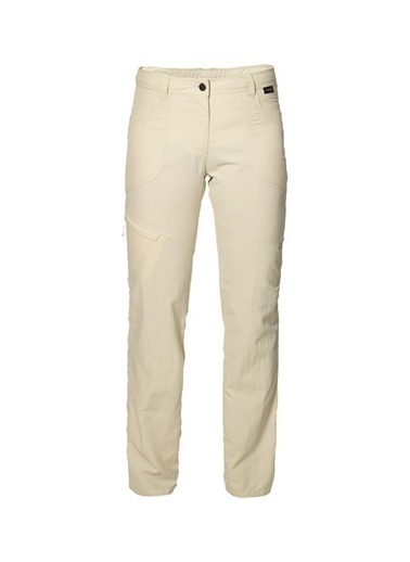 Jack Wolfskin Marakech Roll Up Kadın Pantolon - 1503691-5017 Krem